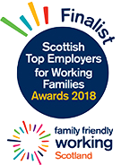 Family Friendly Working Scotland Finalist 2018