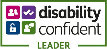 Disability Confident Employer - Leader