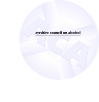 Ayrshire Council on Alcohol